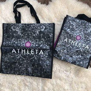 ATHLETA REUSABLE BAGS BUNDLE